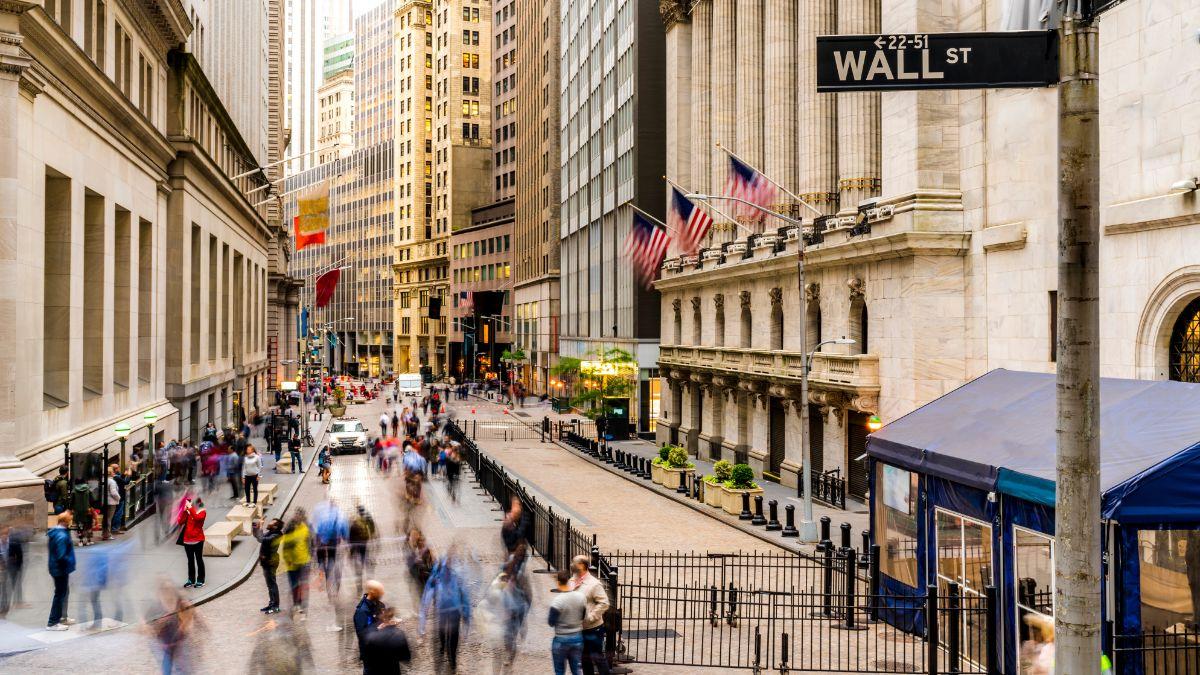 ウォール街の風景